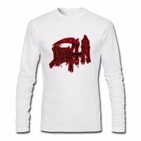 Men S Long Sleeve DEATH Class Logo T Shirt ROCK BAND HEAVY METAL T Shirts Funny