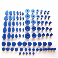 90 Pcs PDR Tabs PDR Tool Paintless Dent Repair Tool Glue Tabs for Most Puller Lifter