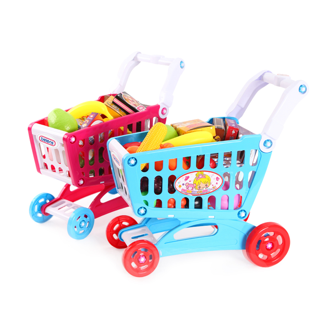 Benies Play House Toy shopping cart t Vegetables Fruits Set Kids Cute Pretend Play Children Kid Educational Toy Gift Birthday goplus kids wooden toy shop market children shopping pretend play set colorful toddler baby christmas birthday gift hw56112