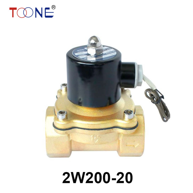 2W200-20 3/4 2 Way Solenoid Calve Gas Diesel Oil Normal Closed Direct Brass Valve 220VAC 110VAC 24VDC 12VDC палатка normal виктория 3