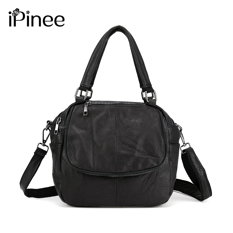 iPinee Luxury Women Designer Handbags High Quality Brand Cowhide Genuine Leather Handbags Women Messenger Bags Bolsa Feminina chispaulo women bags brand 2017 designer handbags high quality cowhide women s genuine leather handbags women messenger bag t235