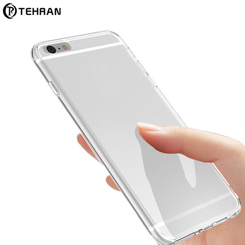 TEHRAN Transparent TPU Silicone Case For iPhone XS MAX XR 6 7 6S Plus Protect Phone