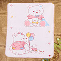 Cotton Fiber Baby Infants Reusable Durable Washable Waterproof Urine Mat Cover Changing Pad Washable Bed Mats Cartoon printed