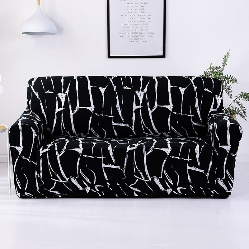 Slip Resistant Sofa Cover in 1 pc for Armchair and Sectional Sofa for Home Hotel and Office 3