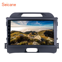 Seicane Android 6.0 Quad Core Car Stereo Radio GPS Navigation Multimedia Player for 2010 2014 2015 KIA Sportage with ROM 16GB