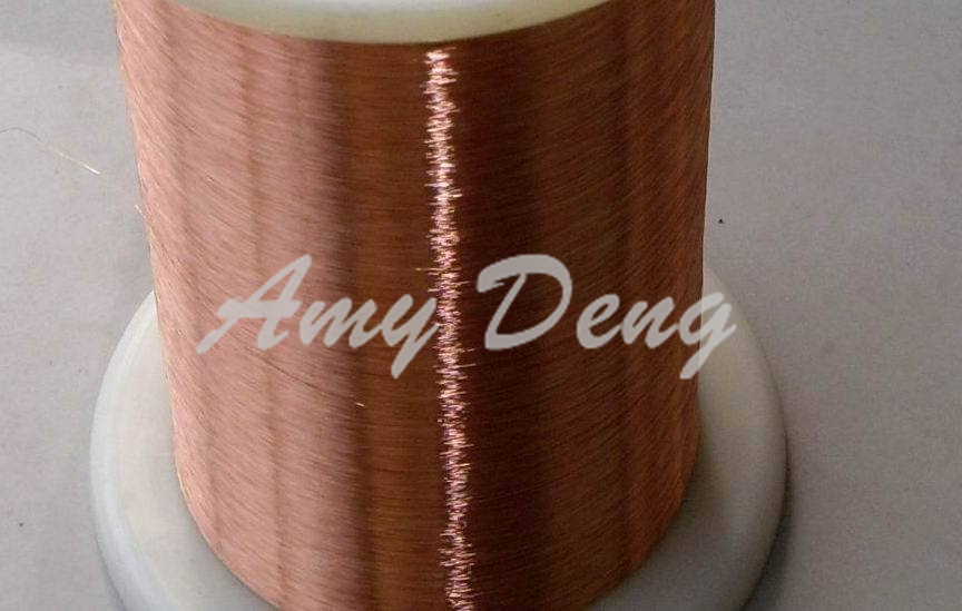 5000 Meters/lot  0.08 Mm Mm New Polyurethane Enamelled Round Copper Wire Line QA-1-155