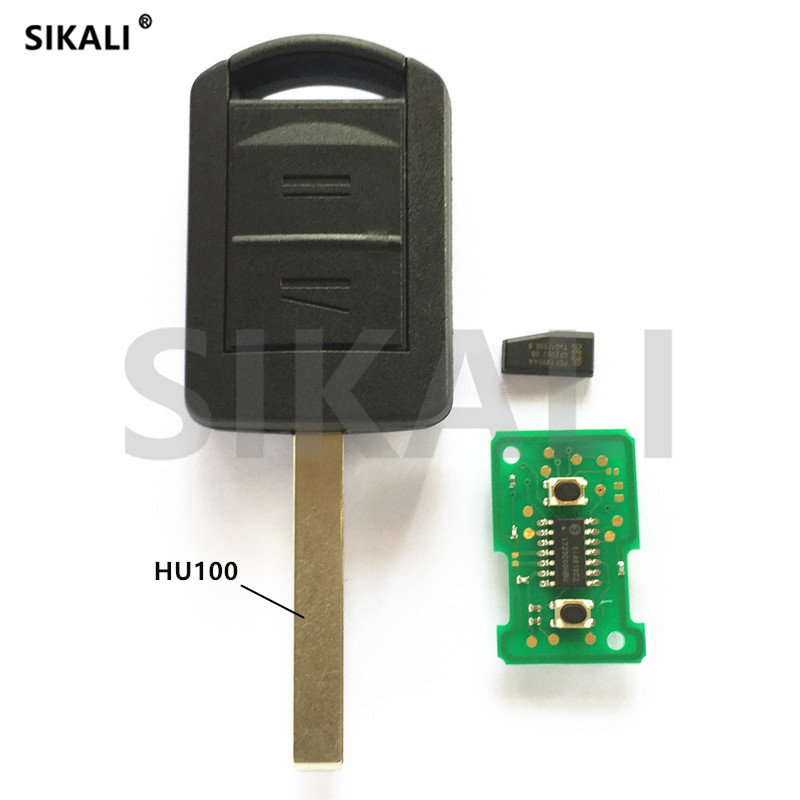 Sikali 2 Пуговицы автомобиль дистанционного ключа 433.92 мГц для Meriva Corsa Vectra с ID40 pcf7935 чип