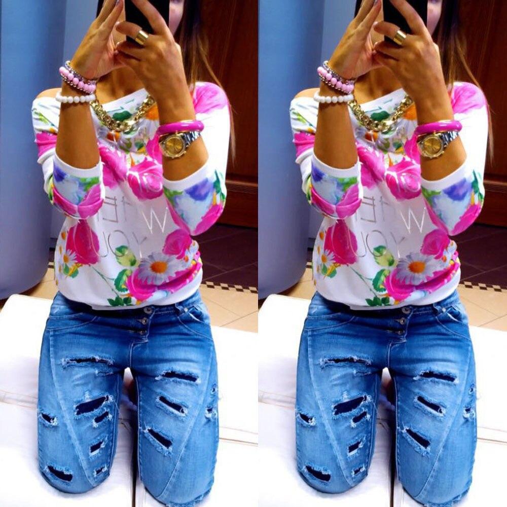 HTB1HaD0KXXXXXaBXFXXq6xXFXXXp - Autumn Women Girl Long Sleeve Floral Print T Shirts