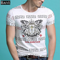 Best Mens T Shirts Fashion 2016 Luxury Brand T Shirt Fitness Short Sleeve O-Neck Top T-shirt Homme Camisa Masculina De Marque
