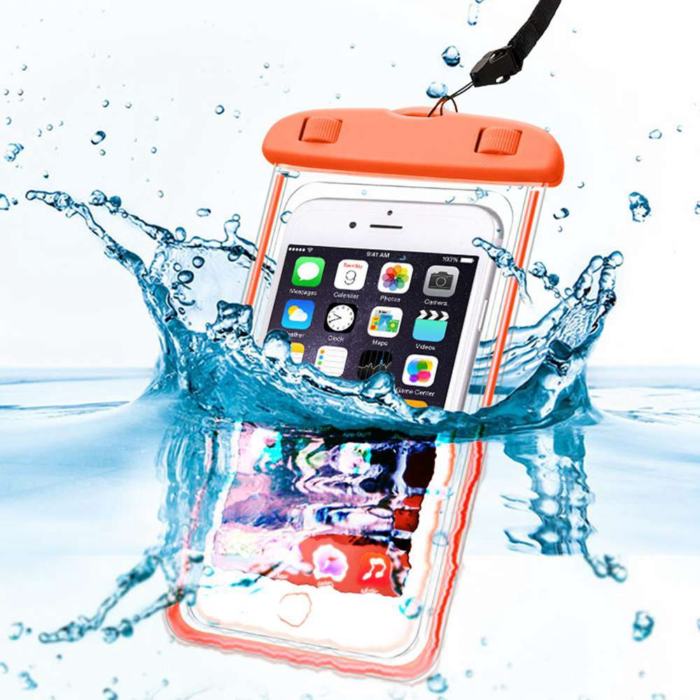 Bag Phone Case Mobile Cover Clear Pouch Pvc Cell Smartphone Universal Waterproof Cellphone Glow Telephone Swim For Samsung s8