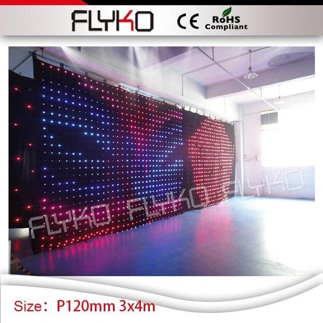 3x4 M Dj Led Lumieres Led Projecteur Haute Definition Discotheque
