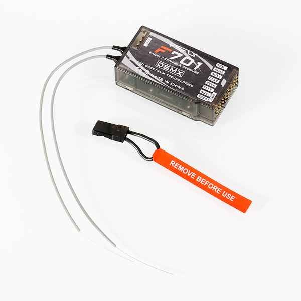 2.4GHz 7CH DSMX DSM2 Spread F701 Receiver For JR Spektrum RC Remote Control System2.4GHz 7CH DSMX DSM2 Spread F701 Receiver For JR Spektrum RC Remote Control System