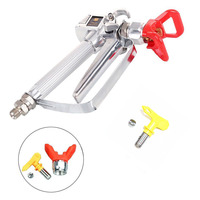 Airless Paint Spray Sprayer Gun 3600PSI Tip Guard No Tip For Airless Sprayes