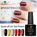 Saviland 1pcs 10ml Soak Off Gel Nails Lacquers Vernis Gel Pure Colors UV LED Gel Nail Polish Varnishes Art Manicure Kits