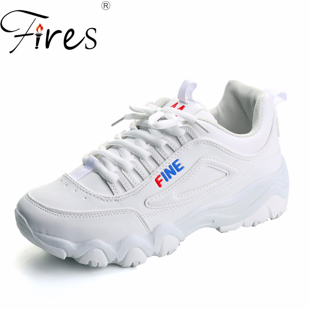 Fires Women Summer Running Sneakers Artificial leather Sport Shoes Ladies Solid Color Walking Shoes Soft Light Outdoor Sneaker