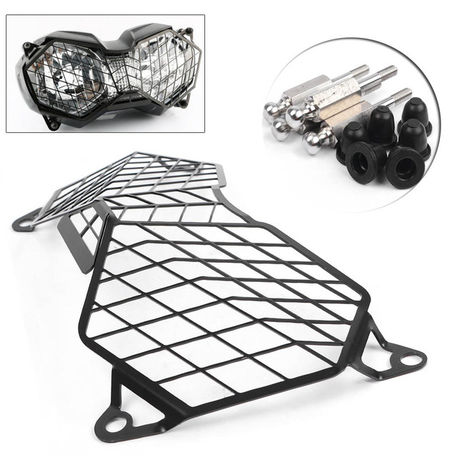 Front Headlight Protector Grille Grill Guard Cover For Triumph Tiger