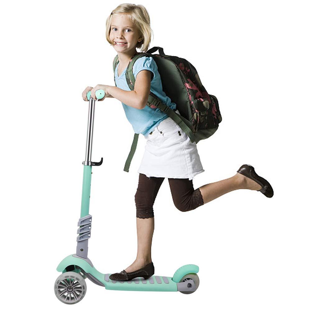 3 en 1 enfants enfants Scooter bébé marcheur trois roues siège amovible enfants coup de pied Scooter pliable bébé santé sport voiture