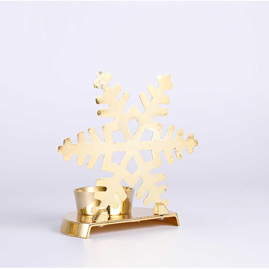 Скандинавский домашний декор Arredo Casa подсвечники Конфета украшение свадебные золотые подсвечники Bougeoir Noel канделябры фонарь 50