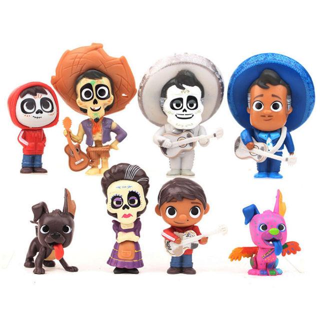 disney cute toys 9pcs lot 5 9cm movie coco pixar action figure toys