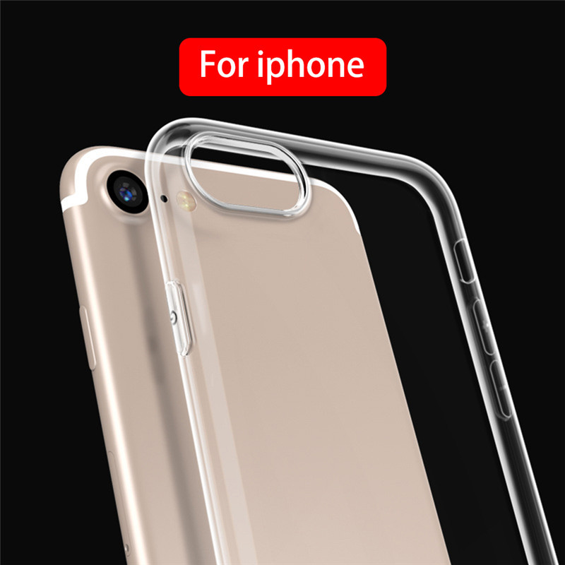 JETech Case for Apple iPhone 8 / 8Plus and iPhone 7, X Plus, Shock-Absorption Bumper Cover, Anti-Scratch Clear Back, HD Clear 1