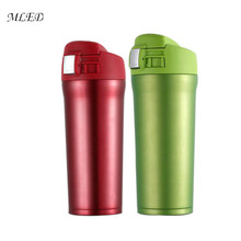 450ML Insulated Thermos Water Bottle Stainless Steel Vacuum Flask Thermoses Tumbler Thermal Cup Coffee Mug Tea Thermos Thermocup coffee thermo mug bottle insulated beer milk thermocup stainless steel thermoses vacuum flask thermal metal cup coffee mug