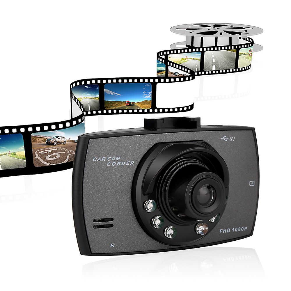 """Geartronics cámara con grabadora para coche 2,4 """"coche DVR Full HD 1080P G30 con detección de movimiento visión nocturna g-sensor cámara de salpicadero CSL2017 coche-"""