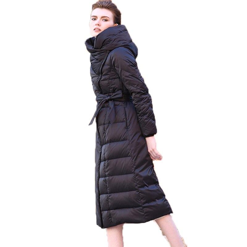 Feminino Canard Veste Hiver Parka Le Mode Femmes 90 2018 Blanc Luxe Vers Mince Survêtement De Wuj0945 Bas Noir Black Casaco Manteau Duvet Femelle wRaqCT6