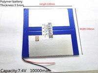 U9GT2 U19GT Vido N90 Newman A19 A1 Dual Engine 3570140 35140140 10000 MAh Chi V9 Battery