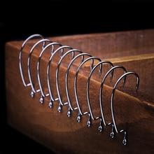 High-carbon steel fishing hooks