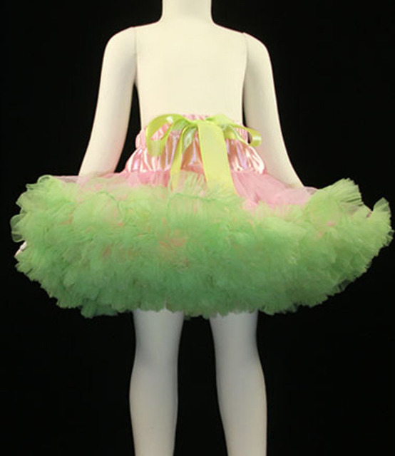 2017 nueva Princesa arco cintura alta falda pettiskirt pastel suave hilo de nylon de malla tutú de la falda pettiskirts