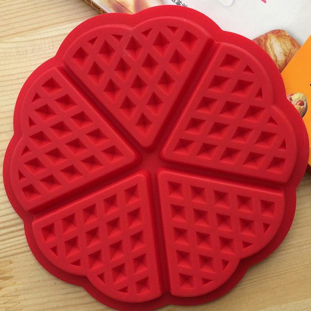 Silicone Waffle Baking Mold
