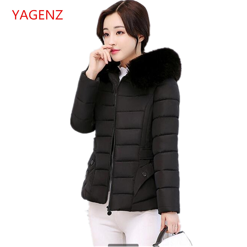 Fashion Student Winter Cotton clothes Women winter jacket Hooded NEW Thick Keep warm coat Winter leisure travel clothing K2562