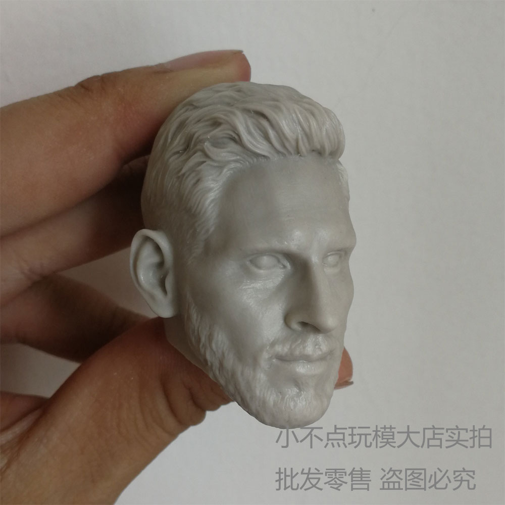 Blank Hot 1//6 Scale NBA Super Star James Head Sculpt Unpainted
