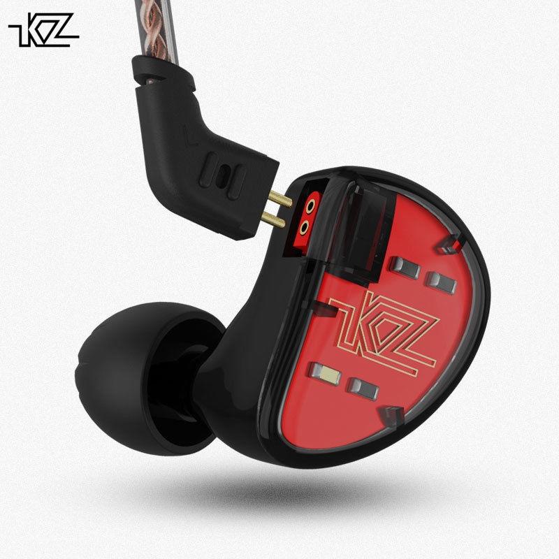 KZ AS10 Five Units Pure Balanced Armature Earphone HiFi Stereo Bass Headset Running Sports In Ear Earphone Earplug
