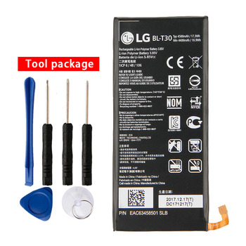 Original BL-T30 Battery for LG X Power 2 II L64VL M320F M320N M322 L63BL K10 Power M320 M320DSN M320TV MLV7N 4500mAh image