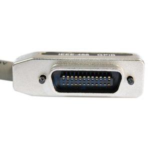 Image 2 - Nouveau 3Ft adaptateur pour IEEE 488 GPIB câble connecteur métallique livraison directe