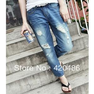 Diy Jeans Ripped | Bbg Clothing