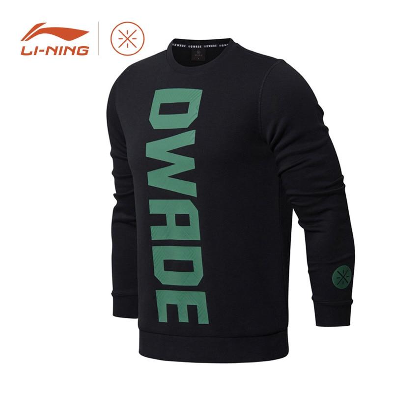 Li-Ning Men Wade Series Sweater Regular Fit WOW 6 'Xmas' Collocation LiNing Sport Coat Long Sleeve SportsTops AWDM921 MWW1362 li ning men wade series hooded coats 71