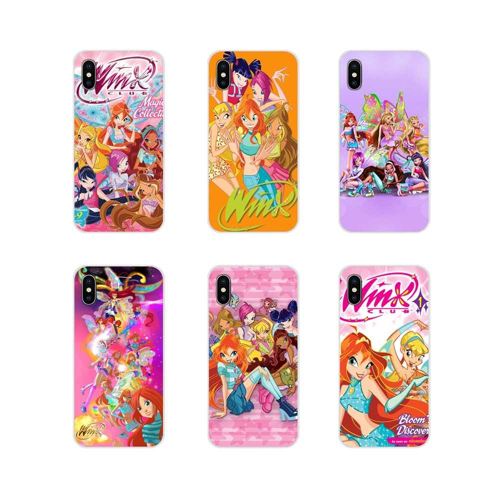 Accessoires Telefoon Shell Covers Winx Club Voor Samsung Galaxy A5 A6S A7 A8 A9S Ster J4 J6 J7 J8 Prime plus 2018