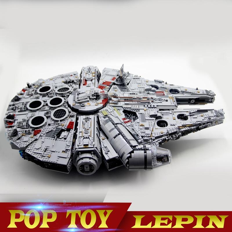 LEPIN 05132 New 7541Pcs Ultimate Collector's Destroyer Star Series Wars Building Blocks Bricks Children legoed 75192