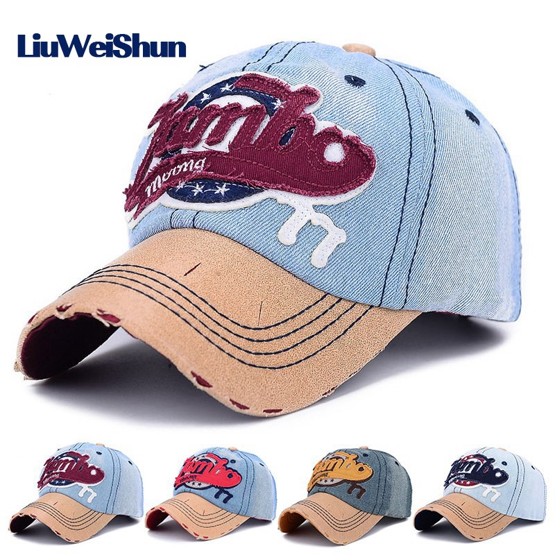 branded baseball caps wholesale hats custom embroidered cap hat for men women cotton bone