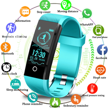 LIGE Smart watch Men Blood Pressure Heart Rate Monitor Fitness bracelet Tracker Women Sport Band smart bracelet for ios Android