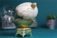 Vỏ trứng Âm Nhạc Hộp Mở Cửa Vỏ Trứng Musicbox Công Chúa Trang Sức hộp âm nhạc box kid cô gái phụ nữ món quà Giáng Sinh