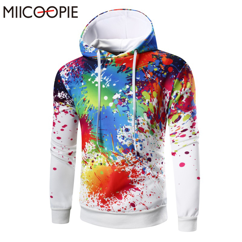Brand Spring Autumn Hoodies Men Funny Printed Mens Hooded Hoodie Sweatshirt Fashion Hip Hop Male Tracksuit Casual Pullover Men