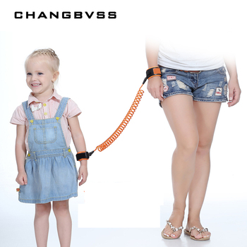 1.5 m Adjustable Child Kids Wrist Leash Toddler Baby Safety Harness Strap Anti lost Child Safety Wristbands Baby Hand Belt