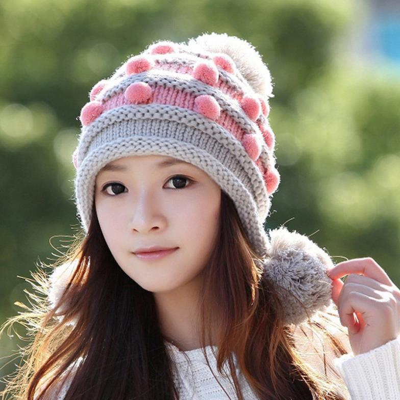 Wholesale lovely women fall wool hat da3413c23e