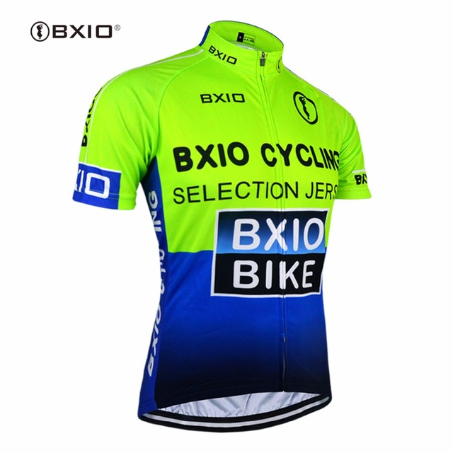 29befbb0 BXIO Short Sleeve Cycling Jersey Shirts Green Raiders Jersey Ciclismo  Camisa De Bike Clothing Size XS-6XL Available 0209G004-J