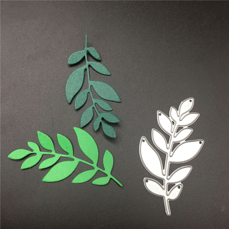 Electronic Components & Supplies Tree Leaves Metal Steel Embossing Craft Diy Leaf Stencil For Metal Cutting Dies Machine Paper Cardsnew 2018 Scrapbooking Die Cut