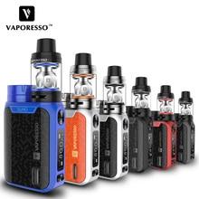 Original Vaporesso SWAG Kit 80W Electronic Cigarette Kits With Vaporesso Swag Mod NRG SE NRG SE Mini Tank E-Cigarettes Vape Kit