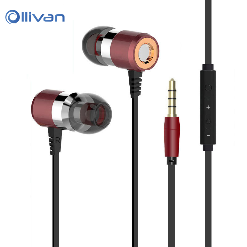 X6 HiFi DJ Bass In Ear Earphones with Microphone for Mobile Phone Universal Wired Earbuds Subwoofer Headset for iphone 6 xiaomi ufo pro metal in ear earphones treadmill female drug sing karaoke audio headset diy mobile phone